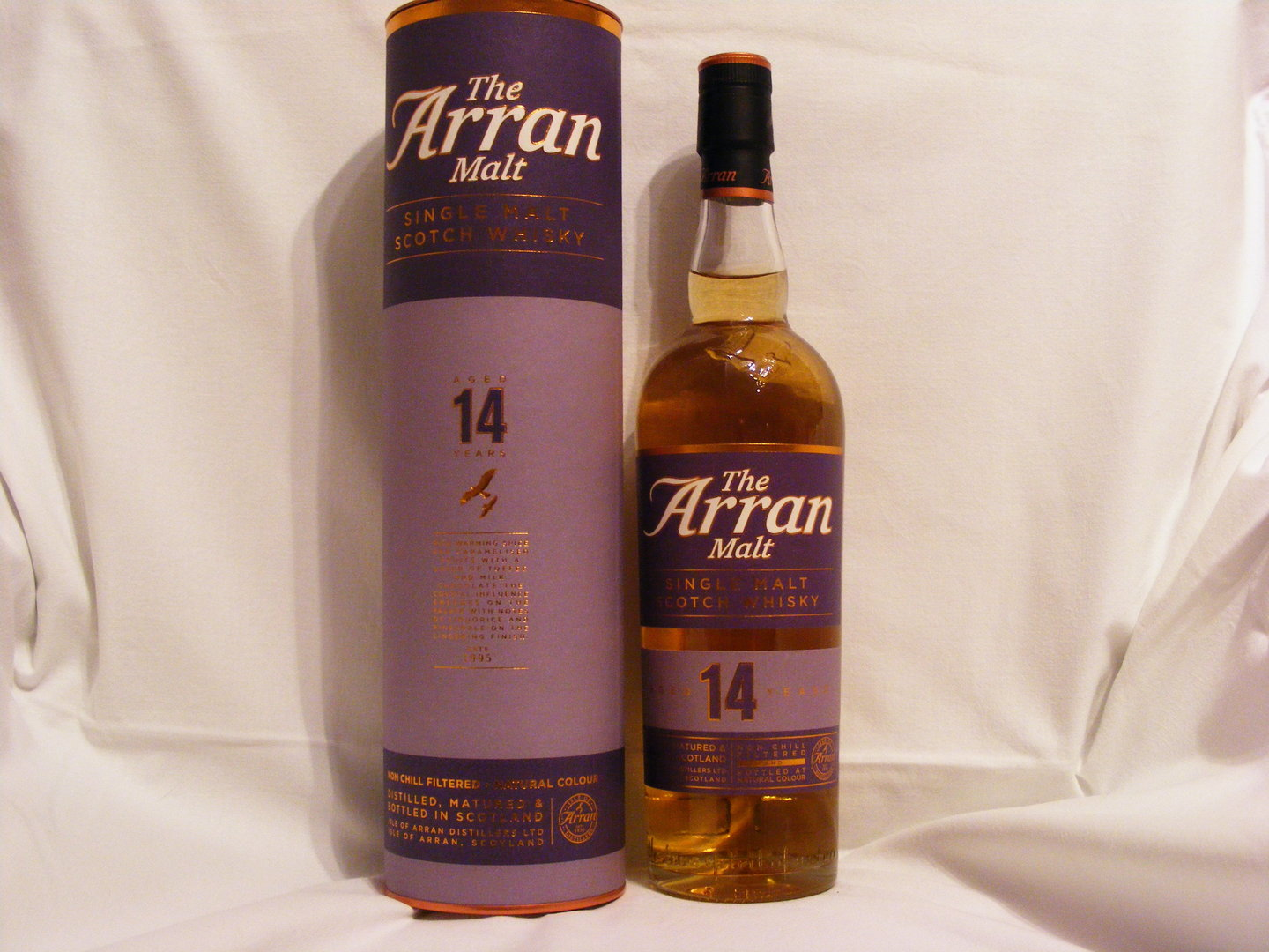Arran 14 Jahre Non Chill Filtered