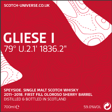 GLIESE I 2011/2018 Speyside Scotch Whisky