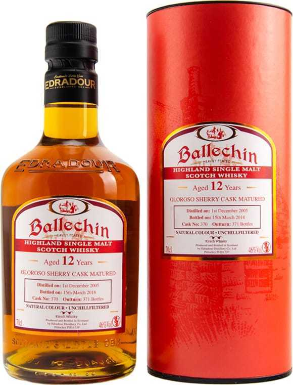 Ballechin 2005 - 2018 Single Sherry Cask