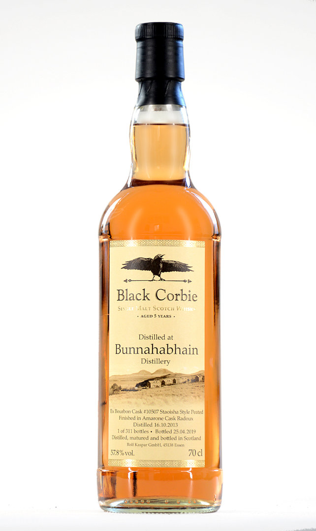 Black Corbie Bunnahabhain Amarone Finish